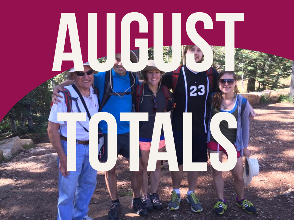 august totals